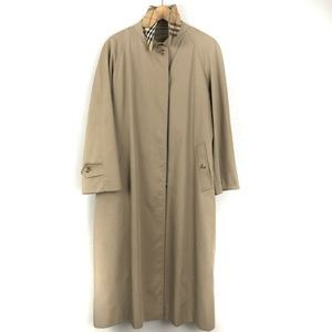 Burberry Trench Coat Rain Jacket Removable Lining